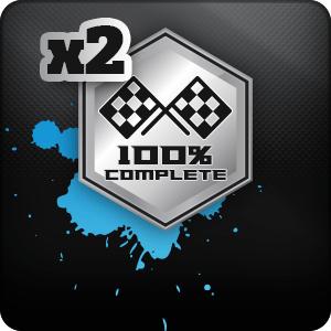 Carreras mantenidas completadas (x2)