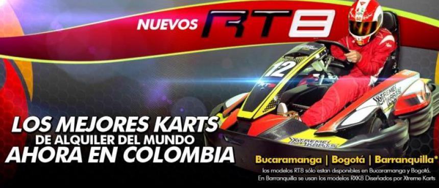 XTREME KARTS COLOMBIA BUCARAMANGA
