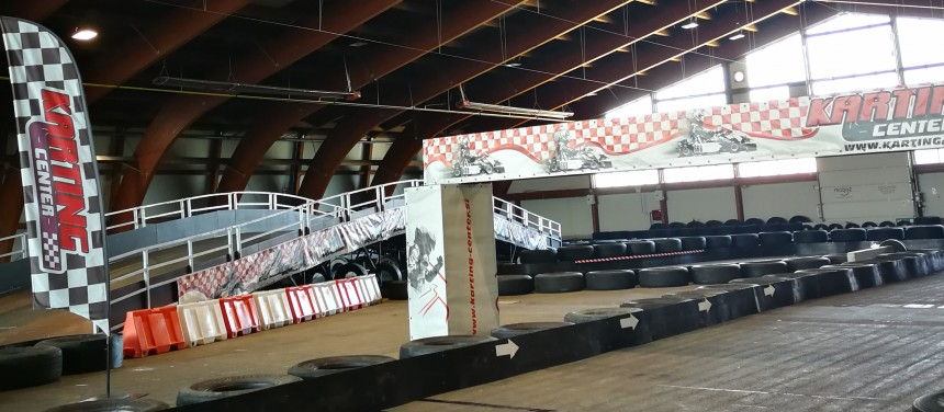 Indoor karting center Celje